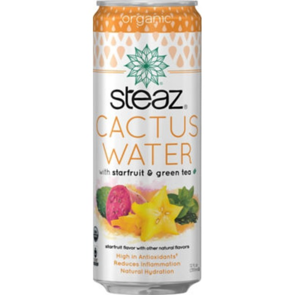 Steaz Cactus Water with Starfruit & Green Tea