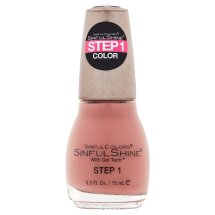 SinfulColors SinfulShine Step 1 Color Nail Color, Tan Lines, 0.5 fl oz