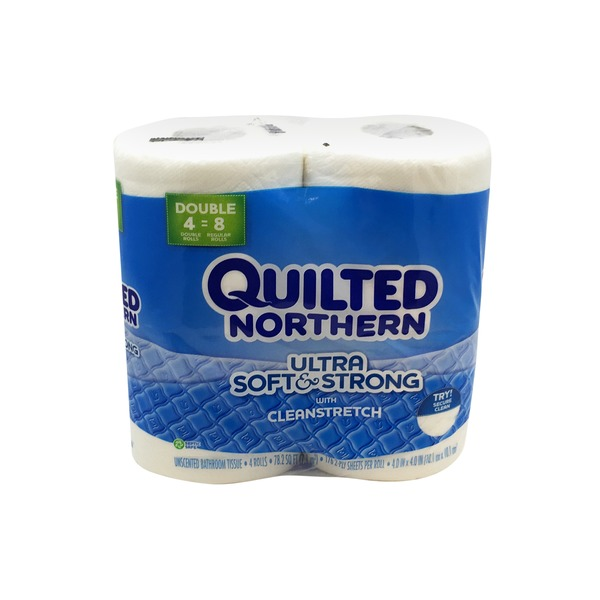 Quilted Northern Bath Tissue Double Roll