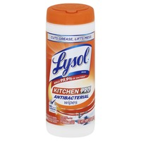 Lysol Wipes, Antibacterial, Kitchen Pro