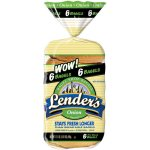 Lender's Refrigerated Onion Bagels, 6 ct, 17.1 oz