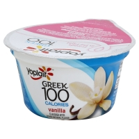 Yoplait Greek Yogurt 100 Calorie Vanilla