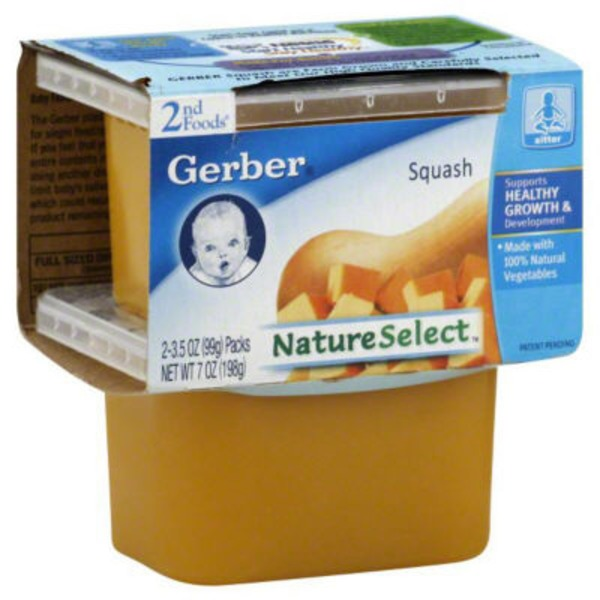 Gerber 2 Nd Foods Butternut Squash Baby Food