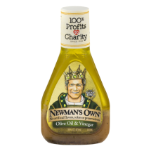 Newman's Own Olive Oil & Vinegar Dressing, 16 Oz