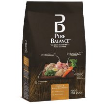 Pure Balance Chicken & Brown Rice Recipe Dry Dog Food, 15 lbs