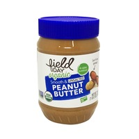 Field Day Organic Unsalted Smooth Peanut Butter