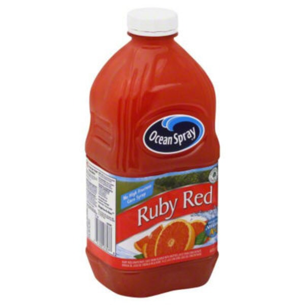 Ocean Spray Ruby Red Original Grapefruit Juice Drink