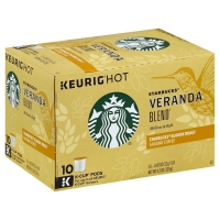Starbucks Coffee K-Cup Blonde Roast Veranda Blend