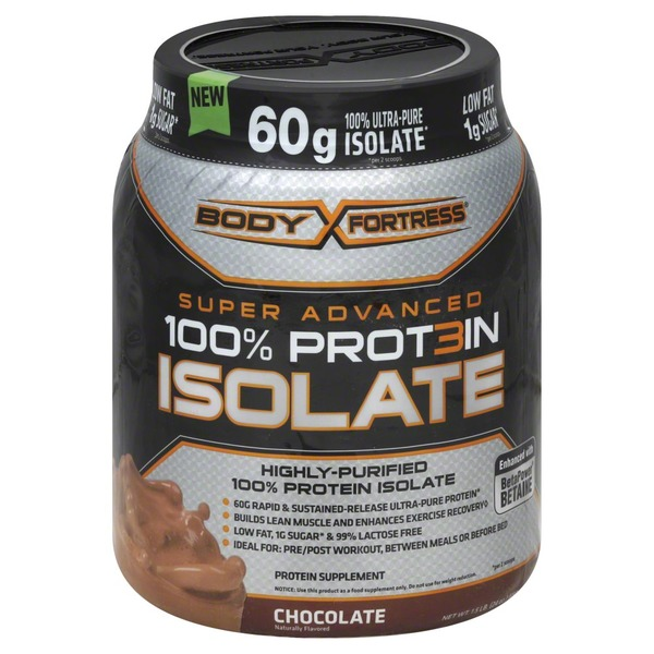 Body Fortress Super Advanced Whey Isolate Chocolate