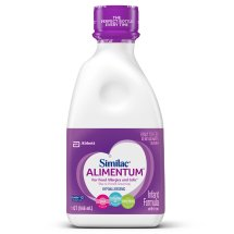 Similac Alimentum Hypoallergenic Infant Formula for Food Allergies and Colic, Baby Formula, Ready to Feed, 1 qt