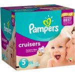 Pampers Cruisers Diapers, Size 5, 66 Diapers