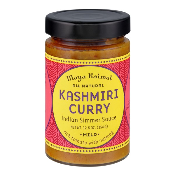 Maya Kaimal Kashmiri Curry Mild Indian Simmer Sauce
