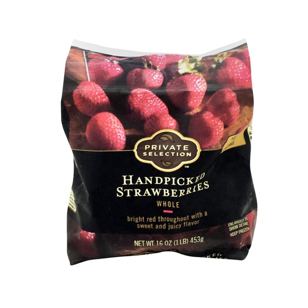 Kroger Private Selection Strawberries Whole