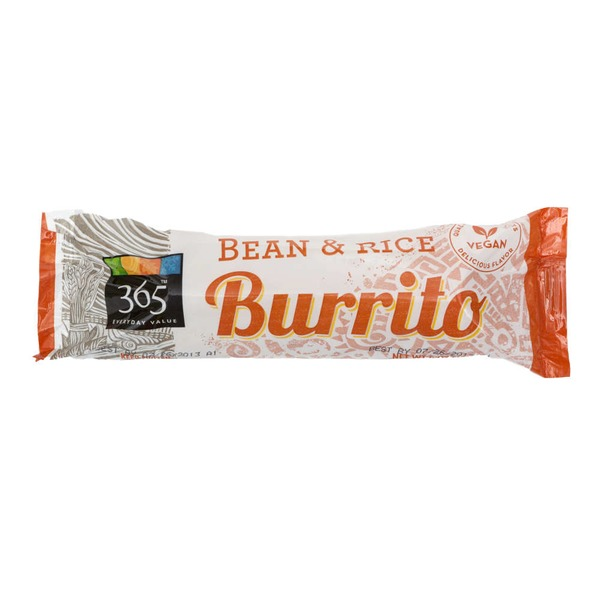 365 Bean & Rice Burrito