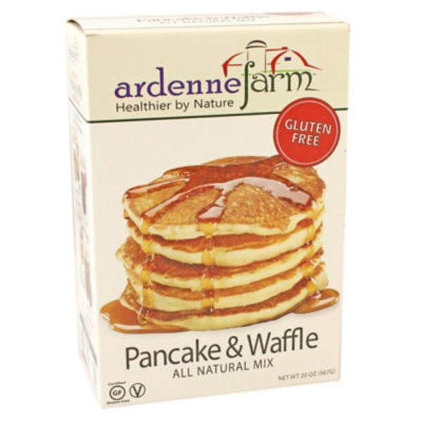 Ardenne Farm All Natural Gluten Free Pancake & Waffle Mix