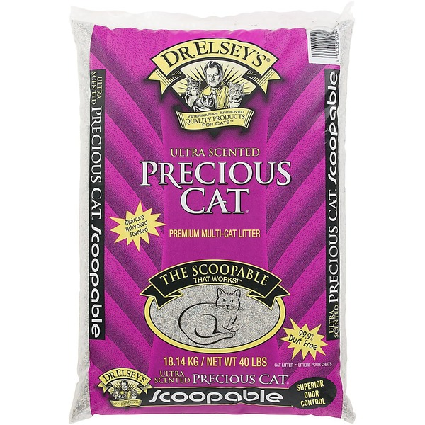 Precious Cat Dr. Elsey's Ultra Scented Scoopable Multi Cat Cat Litter