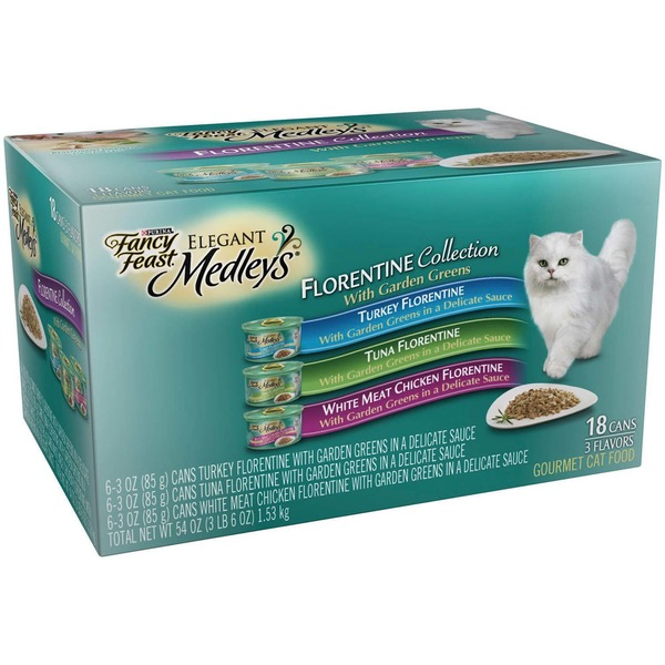 Fancy Feast Medleys Florentine Collection Cat Food
