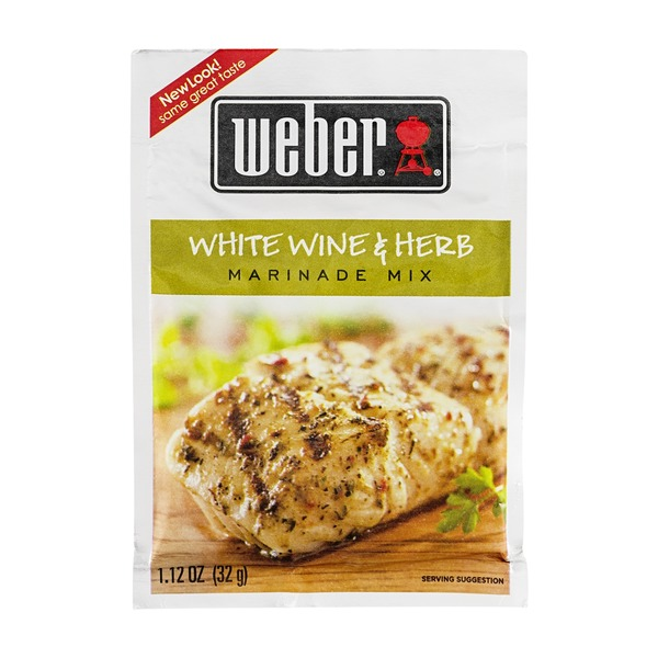Weber Marinade Mix White Wine & Herb