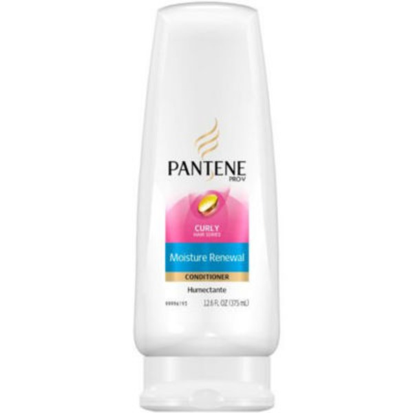 Pantene Dry to Moisturized Pantene Pro-V Curl Perfection Conditioner for Curly Hair 12 fl oz Female Hair Care