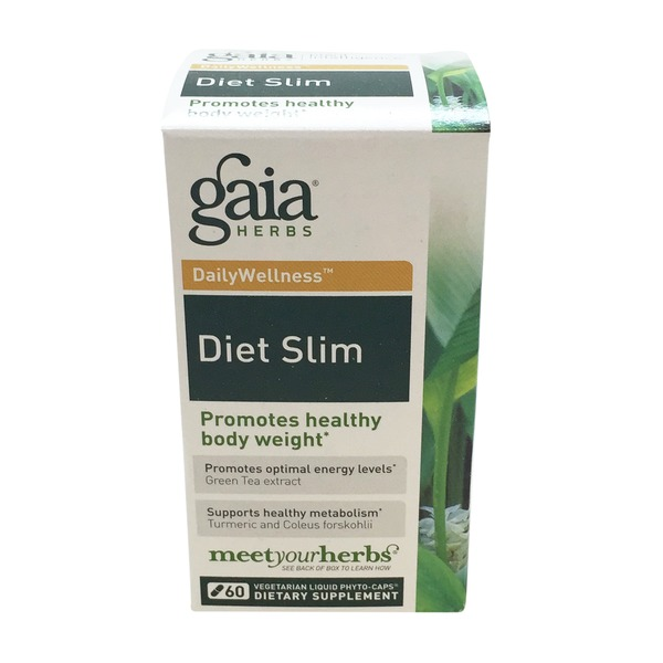 Gaia Herbs Diet Slim Vegetarian Liquid Phyto Caps