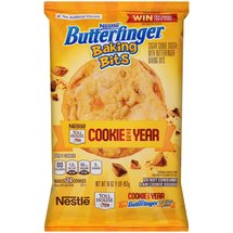Nestle Toll House Butterfinger Baking Bits Sugar Cookie Dough