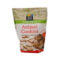 365 Organic Classic Vanilla Animal Cookies