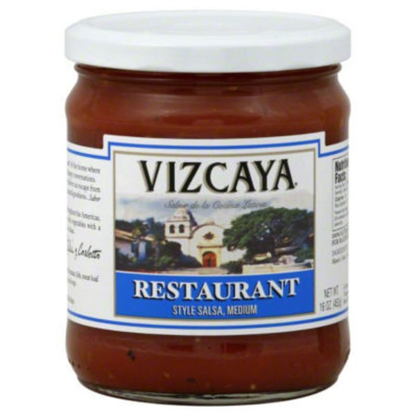 Vizcaya Medium Restaurant Style Salsa