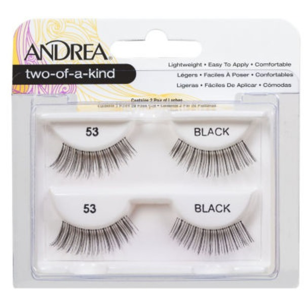 Andrea Two Of A Kind Lashes, Black 53