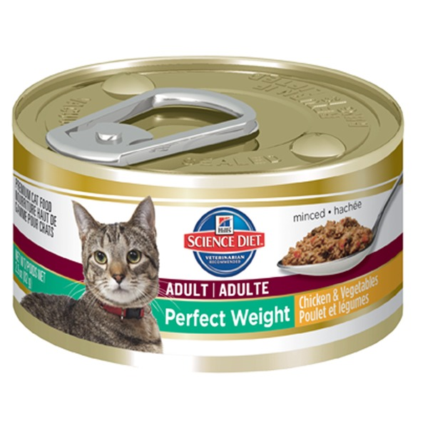 Hill's Science Diet Perfect Weight Chicken & Vegetables Canned Cat Food