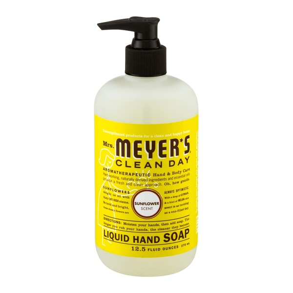 Mrs. Meyer's Clean Day Liquid Hand Soap Sunflower Scent