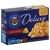 Kraft Macaroni & Cheese Dinner Deluxe Sharp Cheddar