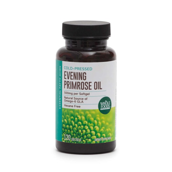Whole Foods Market Evening Primrose Oil 500mg