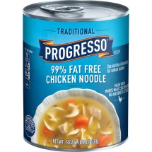 Progresso Soup Traditional 99% Fat Free Chicken Noodle, 19.0 OZ