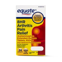 Equate 8 Hour Arthritis Pain Relief Extended Release Tablets, 650 mg, 24 Ct
