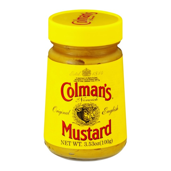 Colman's Of Norwich Mustard Original English