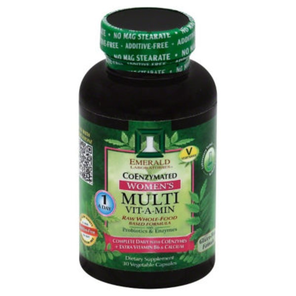 Emerald Laboratories Women's Multi Vit-A-Min Coenzymated Vegetable Capsules