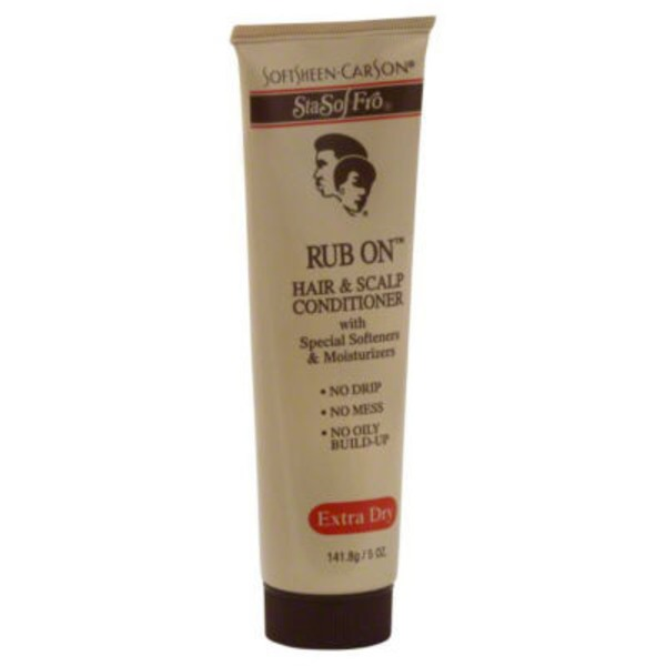 Sta Sof Fro Extra Dry Rub On Hair & Scalp Conditioner
