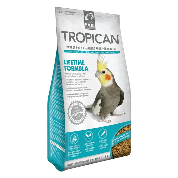 Tropican Lifetime Formula Parrot Food