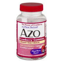 AZO Cranberry Gummies Urinary Tract Health Mixed Berry - 40 CT