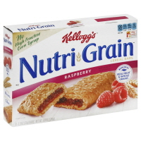Kelloggs Nutri-Grain Cereal Bars Raspberry - 8