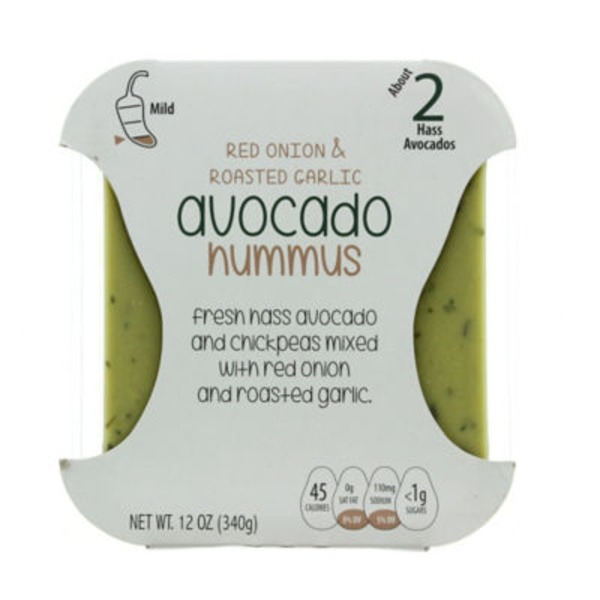 Packer Red Onion & Roasted Garlic Avocado Hummus