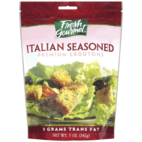 Fresh Gourmet Italian Seasoned Premium Croutons