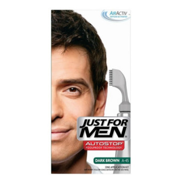 Just For Men Hair Color Application Kit Dark Brown A-45