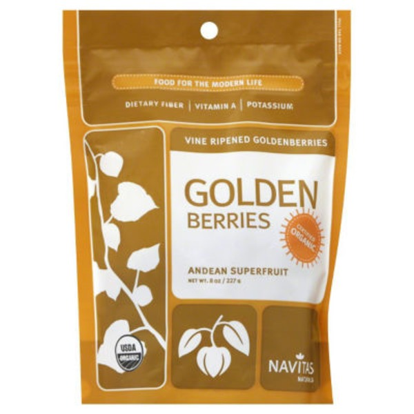 Navitas Naturals Vine Ripened Golden Berries