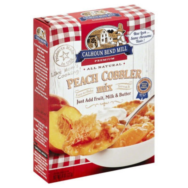 Calhoun Bend Mill Peach Cobbler Mix