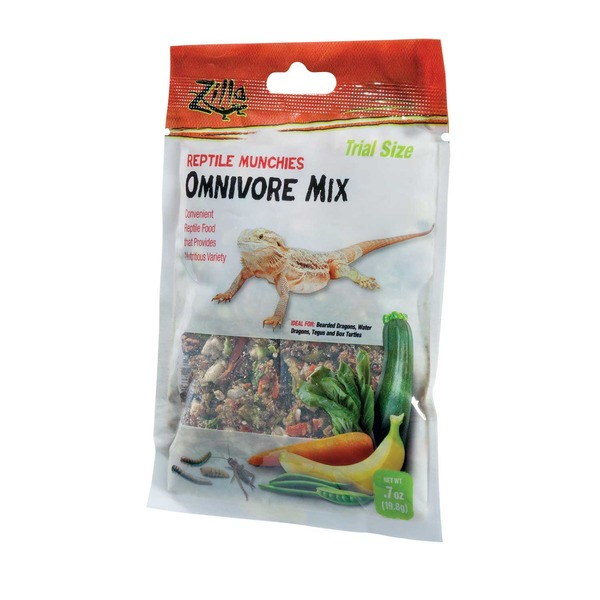 Zilla Omnivore Mix Munchies Reptile Food