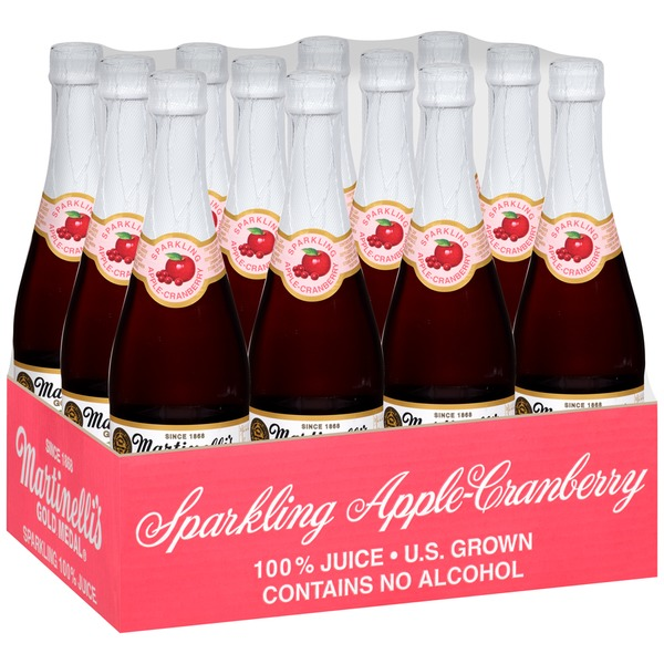 Martinelli's Gold Medal® Sparkling Apple Pomegranate 100% Juice