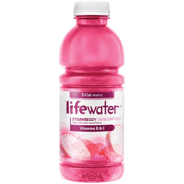 Sobe Lifewater 0 Calorie Strawberry Dragonfruit Water Beverage