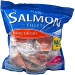 Pink Salmon Fillets, Wild Caught, Skin-On, 56oz