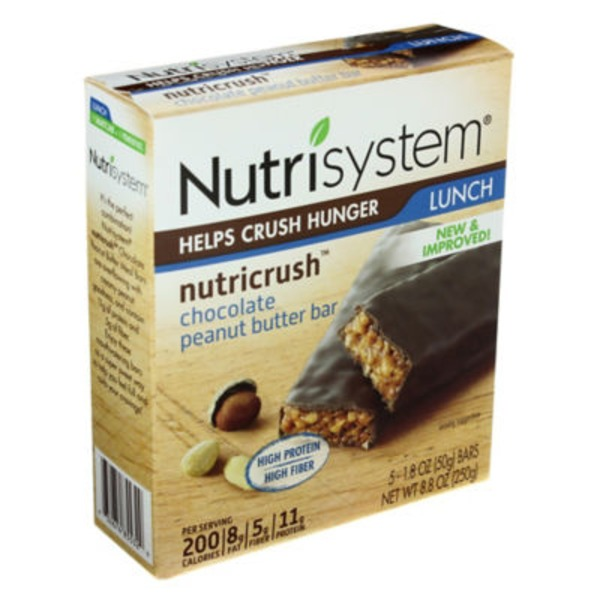 Nutrisystem Lunch Chocolate Peanut Butter Bars